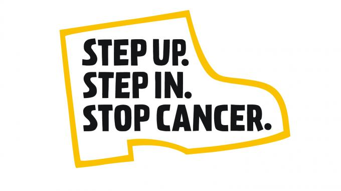 Step Up. Step In. and Stop Cancer.
